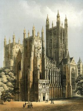 Canterbury Cathedral, Kent, C1870 by WL Walton