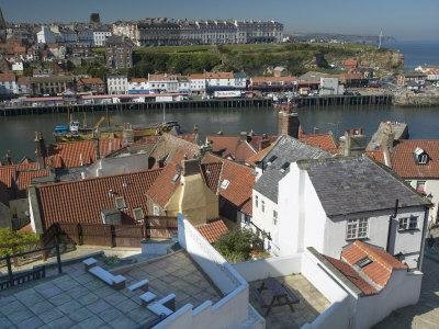 Whitby Harbour, Whitby, North Yorkshire, England, United Kingdom, Europe
