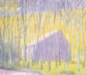 Saltbox Barn by Wolf Kahn