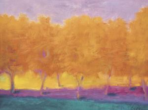 Yellow Trees by Wolf Kahn
