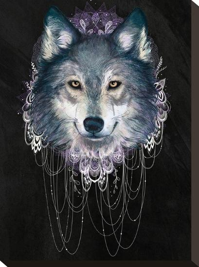 Wolf-Laura Graves-Stretched Canvas