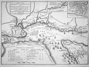 Wolfe's Plan for the Siege of Quebec in 1759, 1780