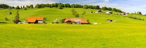 Panorama Scenery in Bavaria in the Allgäu Near Füssen by Wolfgang Filser