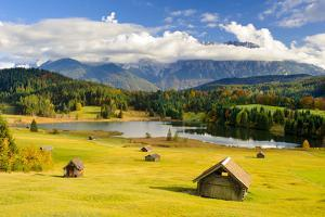 Panorama Scenery in Bavaria with View by Wolfgang Filser