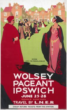 Wolsey Pageant Ipswich