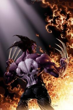 Wolverine vs. Punisher No.4 Cover: Wolverine