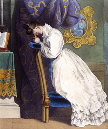 Woman at Prie-Dieu C1850
