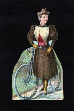 Woman Cyclist, C1890
