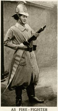 Woman Firefighter During WWI