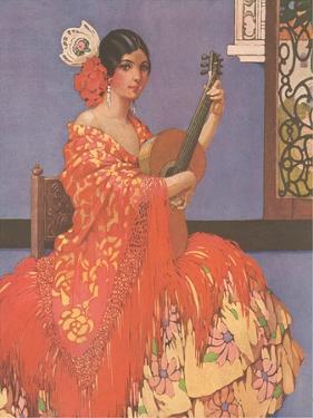 Woman Flamenco Guitarist