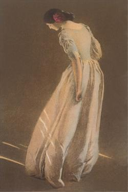 Woman in Long Gown