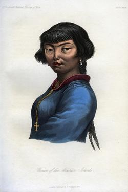 Woman of the Aleutian Islands, 1848