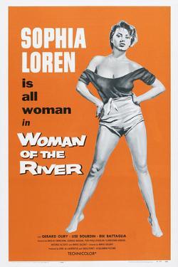 Woman of the River, (Aka La Donna Del Fiume, Aka the River Girl), Sophia Loren, 1955