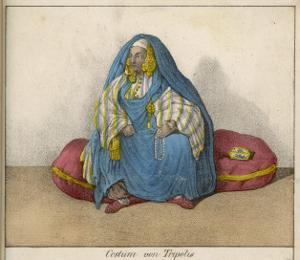 Woman of Tripoli at Home, with Her Face Uncovered