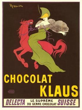 Woman on Red Horse, Chocolate