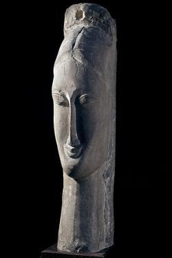 Woman's Head, by Amedeo Modigliani