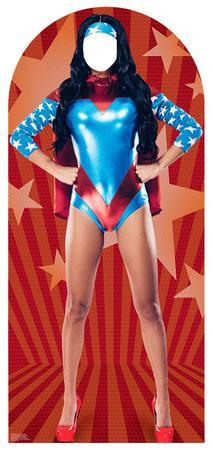 Woman Super Hero Stand-In