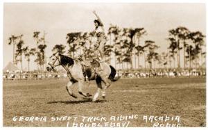 Woman Trick Rider