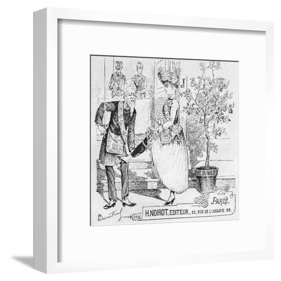Women in Freemasonry--Framed Giclee Print