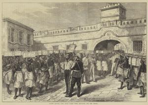Women Leaving Cape Coast Castle with Provisions for the Troops