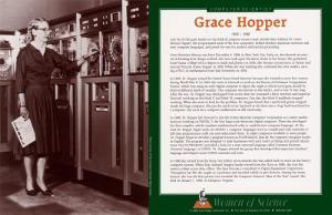 Women of Science - Grace Hopper