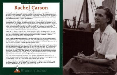 Women of Science - Rachel Carson
