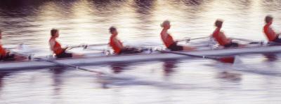 Women Rowing Boat