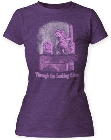 Women's: Alice In Wonderland- Vintage Through The Looking Glass