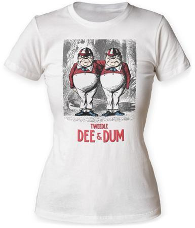 Women's: Alice In Wonderland- Vintage Tweedle Dee & Dum