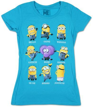 Women's: Despicable Me- Minion Talk