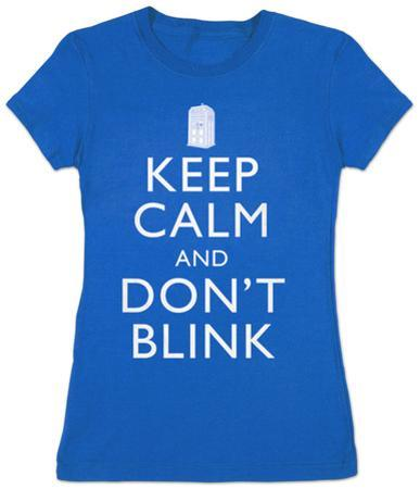 Women's: Doctor Who - Keep Calm and Don?t Blink