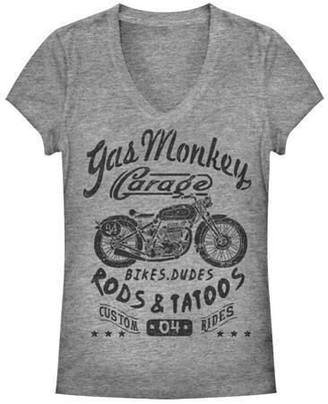 Women's: Gas Monkey- Biker Babe