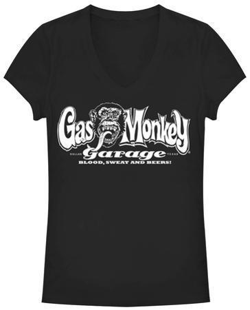 Women's: Gas Monkey- Blood Sweat N Beers