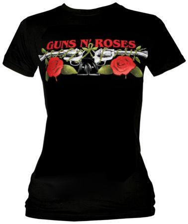 Women's: Guns N Roses - Roses & Pistols