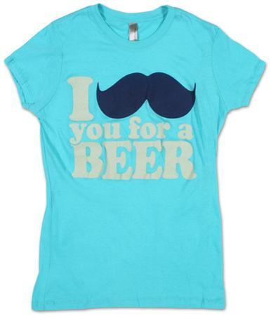 Women's: I Mustache You For A Beer