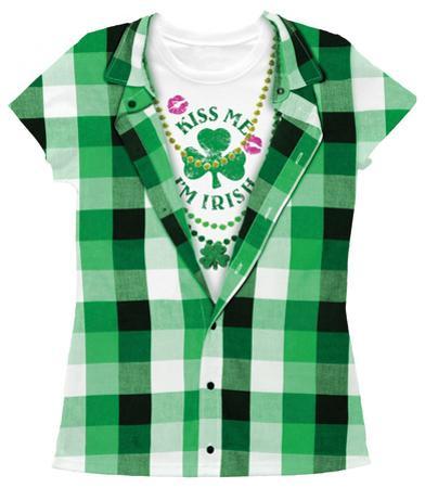 Women's: Kiss Me I'm Irish Costume Tee