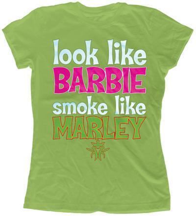 Women's:Kottonmouth Kings- Barbie Smoke Like Marley