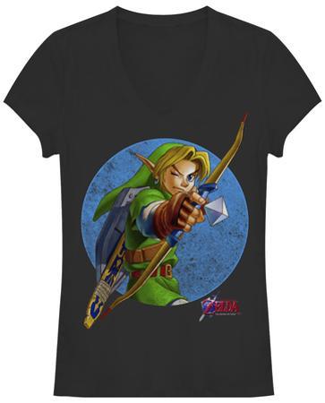 Women's: Legend Of Zelda- Take Aim V-Neck