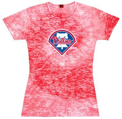 Women's: MLB: Phillies Spiral (Burnout)