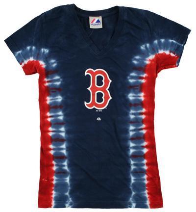 Women's: MLB: Red Sox V-Dye