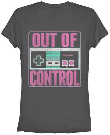 Women's: Nintendo- Out of Control