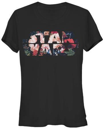Women's: Star Wars- Antique Flowers Logo