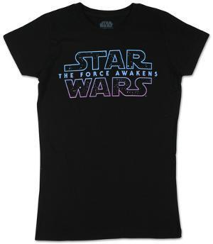 Women's: Star Wars- Starry Logo 7