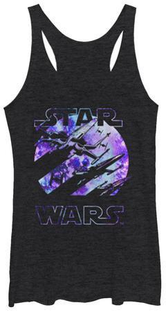 Women's: Star Wars The Force Awakens- Galactic Tank Top