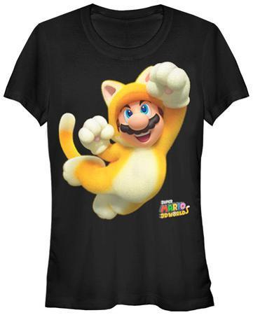 Women's: Super Mario Bros- Cat Mario