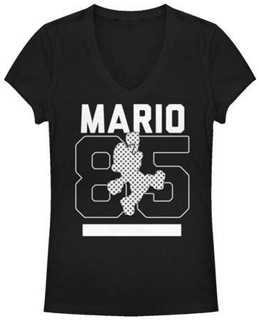 Women's: Super Mario Bros- Jumpin Since 85 V-Neck