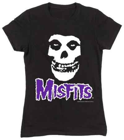 Women's: The Misfits- Fiend Skull Purple Logo