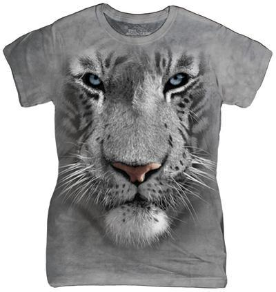 Women's: White Tiger Face