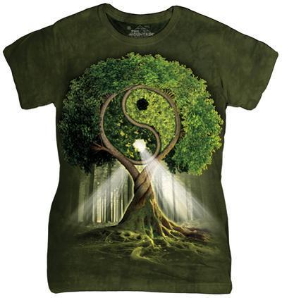 Women's: Yin Yang Tree