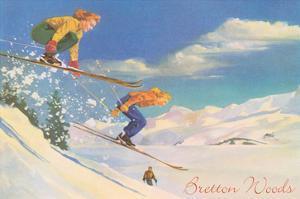 Women Skiers, Bretton Woods, New Hampshire